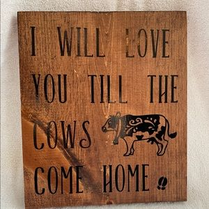 Other - Farm House Home Decor Wooden Sign